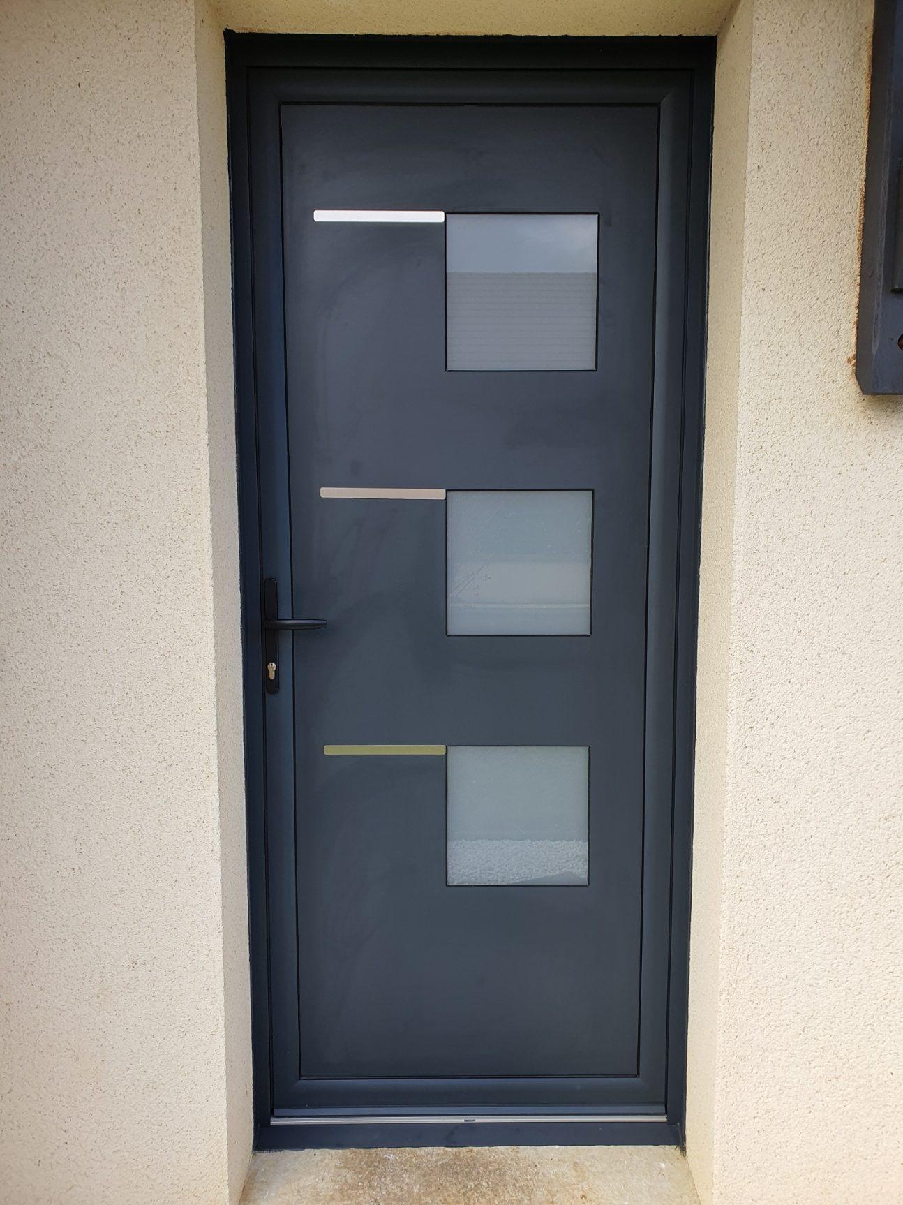 Porte aluminum - Selmir agencement à Falaise
